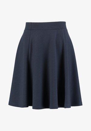 SC-DENA SOLID 58 - Áčková sukně - dark blue