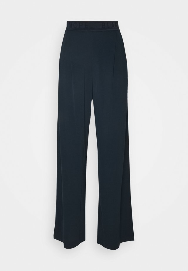 CARISI PANTS - Trousers - navy