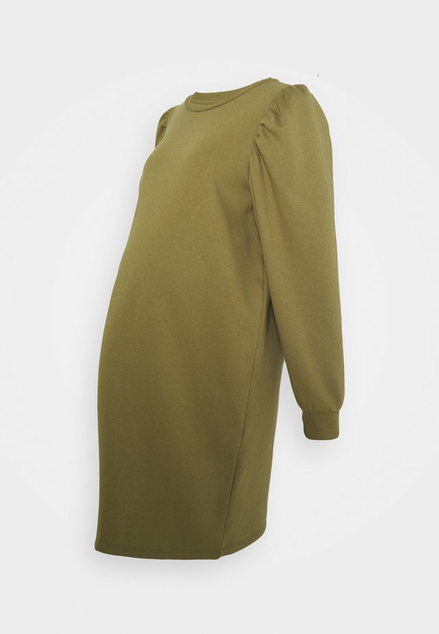 PCMJASSI DRESS - Kjole - martini olive