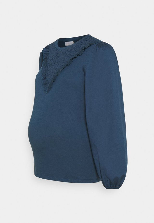 MLNADINE  - Long sleeved top - mallard blue