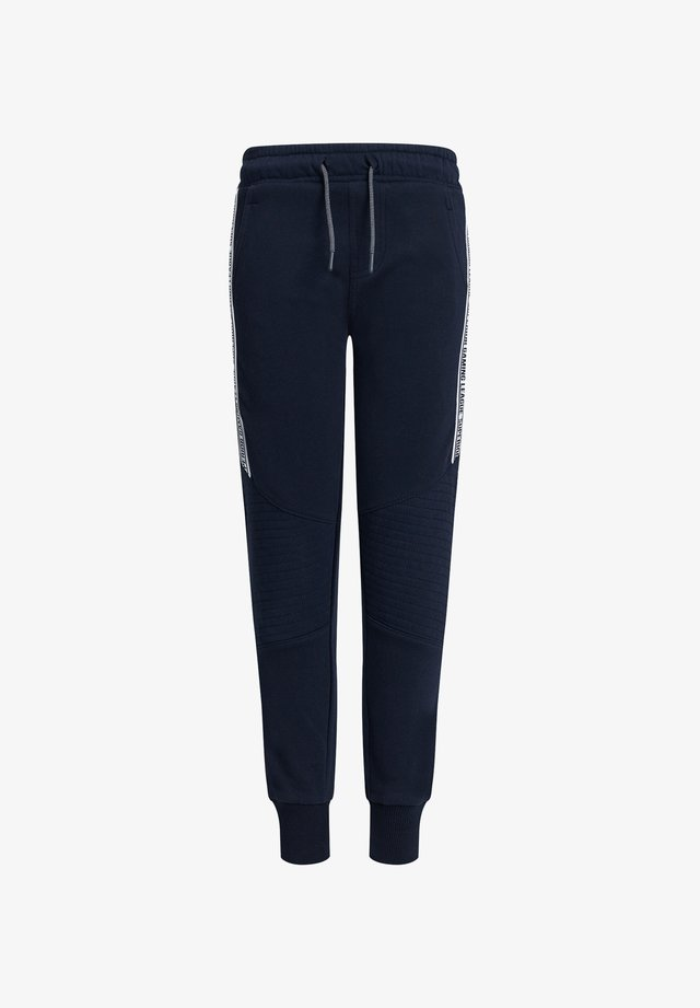 MET TAPE- EN BIKERDETAILS - Pantaloni sportivi - dark blue