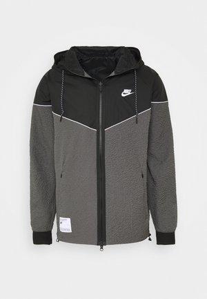 Lehká bunda - iron grey/black