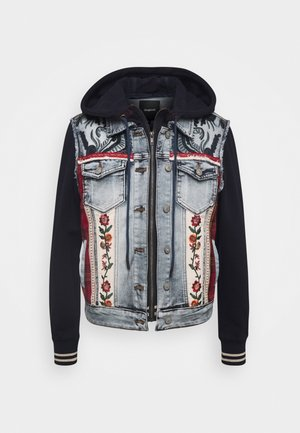 CHAQ LIBERTE - Denim jacket - denim bleach