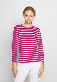 Polo Ralph Lauren - STRIPE - Long sleeved top - accent pink - 0