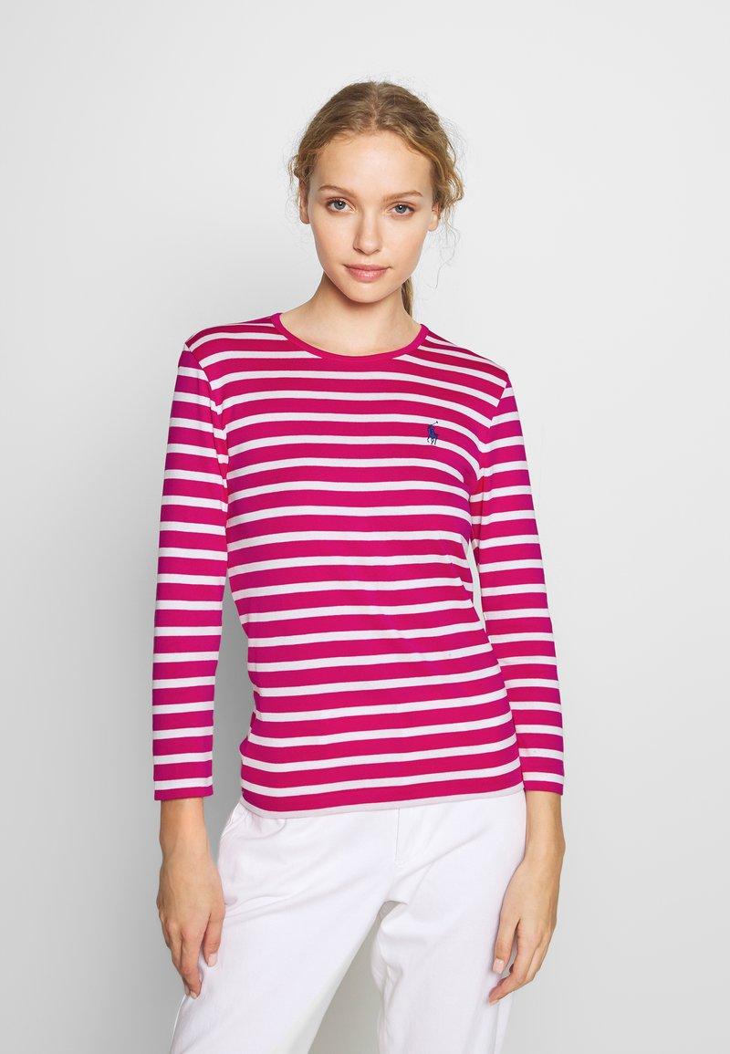 Polo Ralph Lauren - STRIPE - Long sleeved top - accent pink