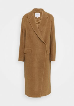 ANISSA LONG - Classic coat - camel