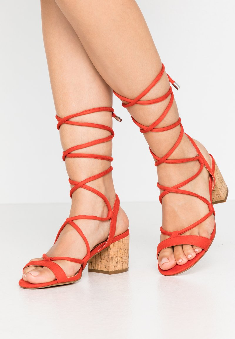 Even&Odd - Sandals - red