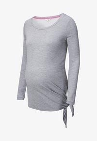 Noppies - HEATHER - Long sleeved top - grey melange - 3