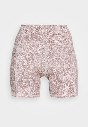 LIFESTYLE POCKET BIKE SHORT - Leggings - dusty rose