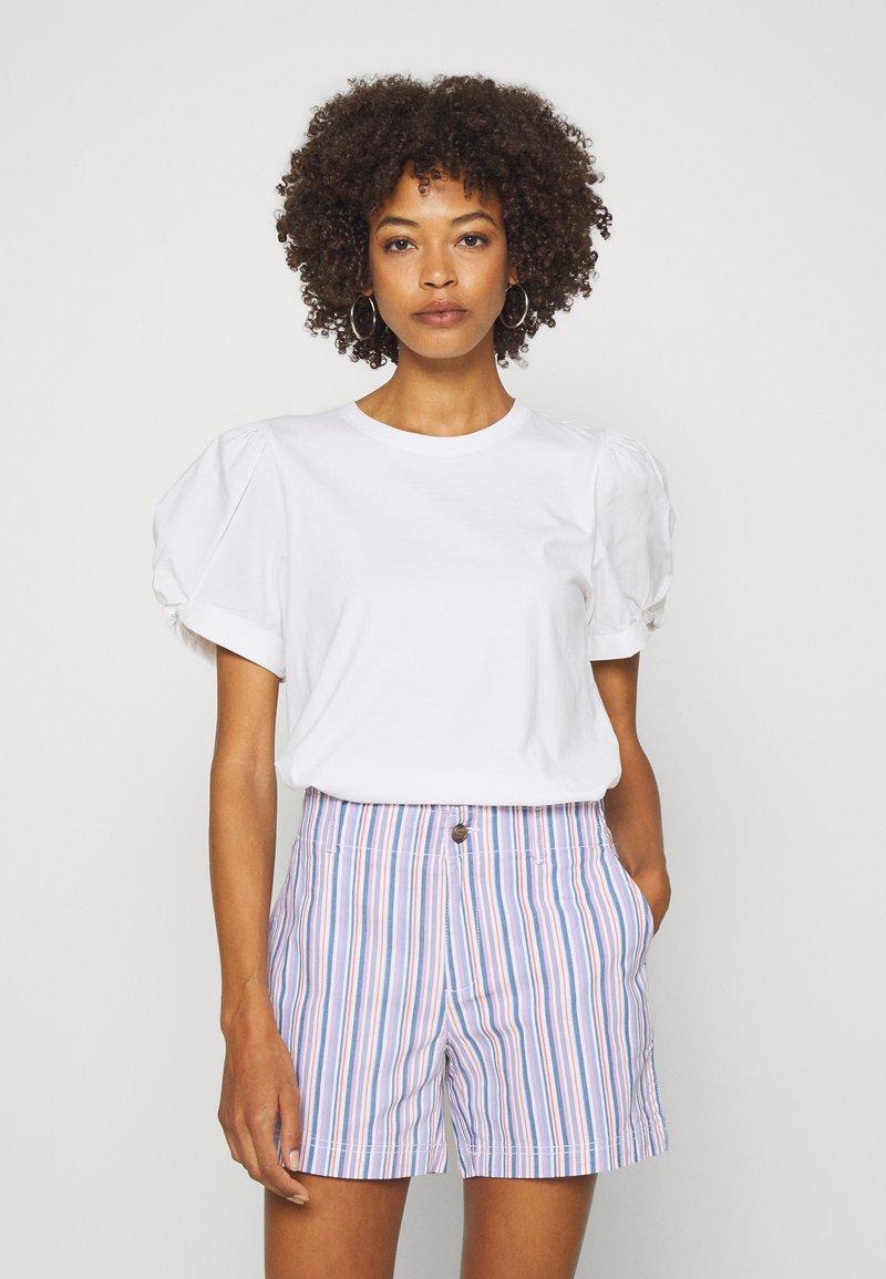 GAP - MIX PUFF - Basic T-shirt - white
