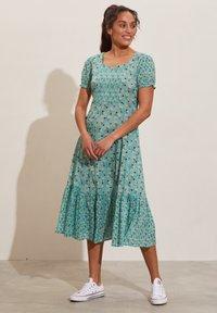 Odd Molly - Jerseyklänning - dusty turquoise - 1