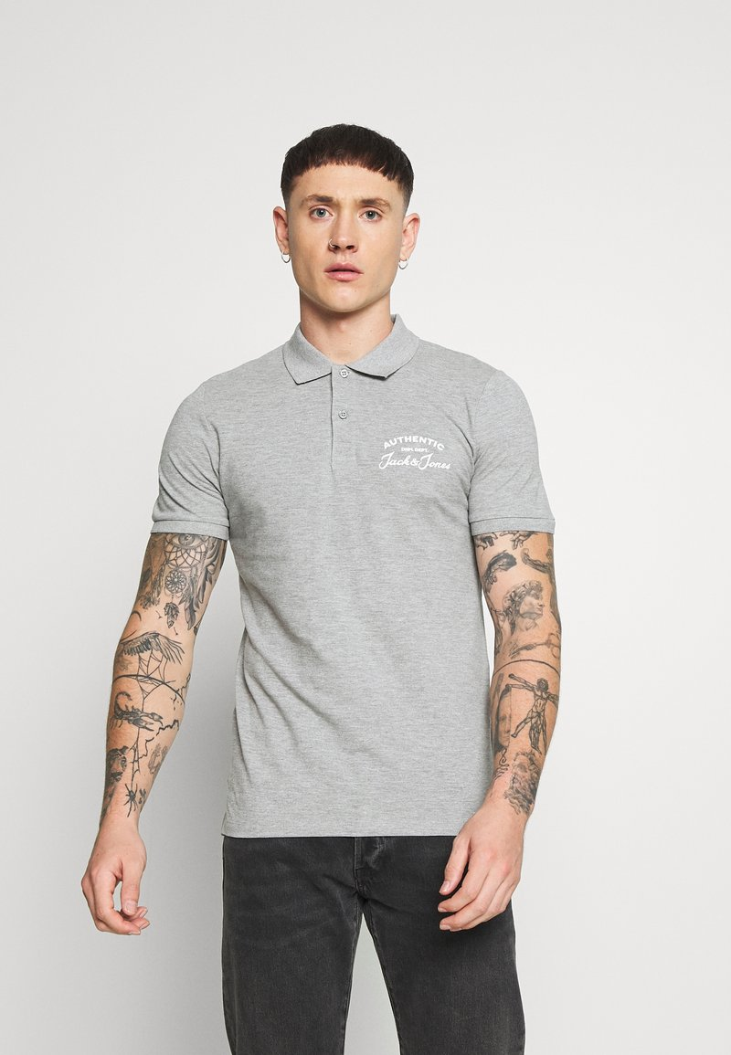 Jack & Jones - JJHERO  - Polo - grey