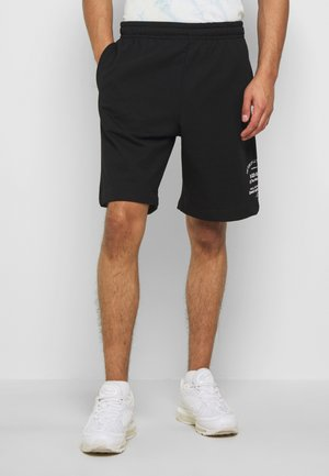 P BOXIER X2 - Tracksuit bottoms - black