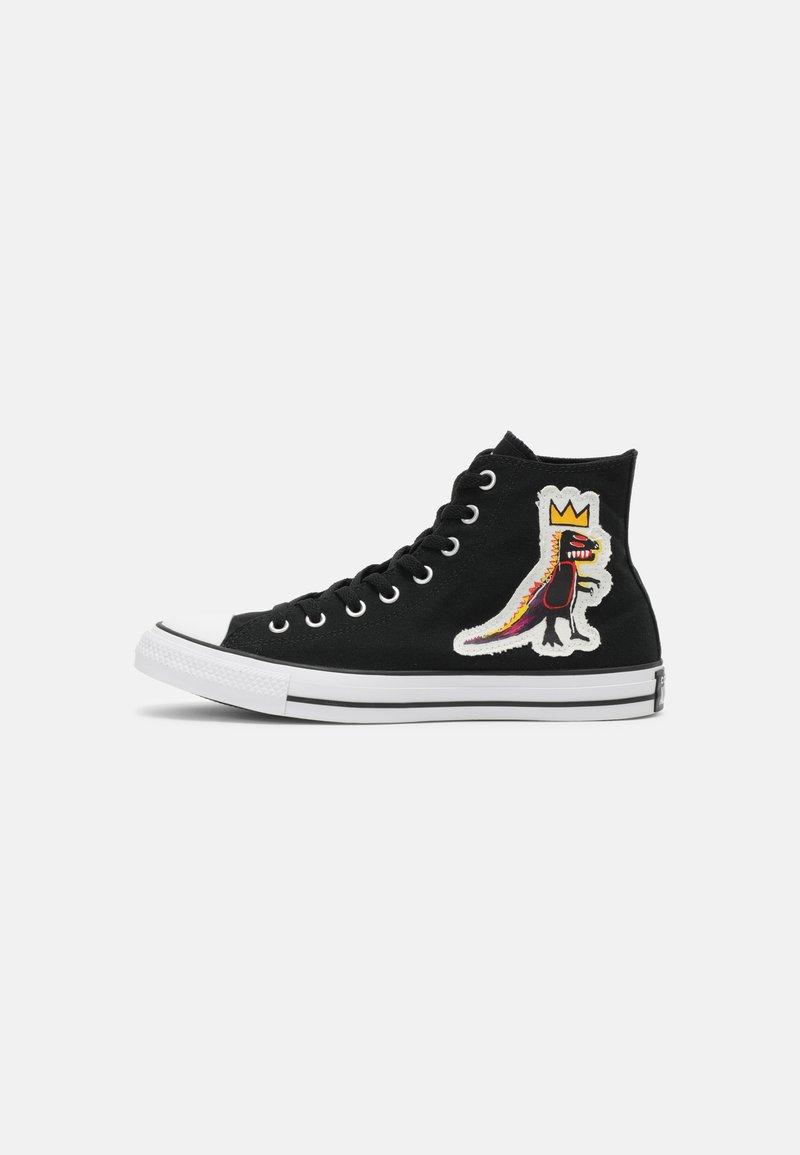 Converse - CONVERSE X BASQUIAT CHUCK TAYLOR UNISEX - Zapatillas altas - black