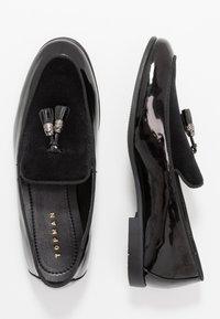 Topman - ARLO - Scarpe senza lacci - black - 1