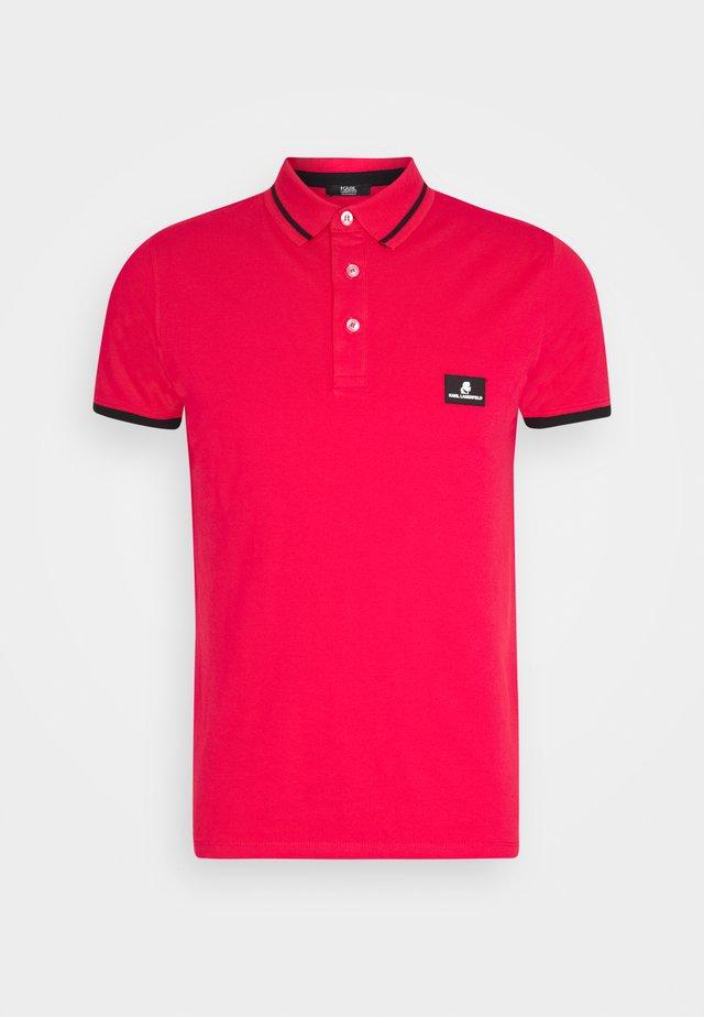 CÔTE D'AZUR - Koszulka polo - red