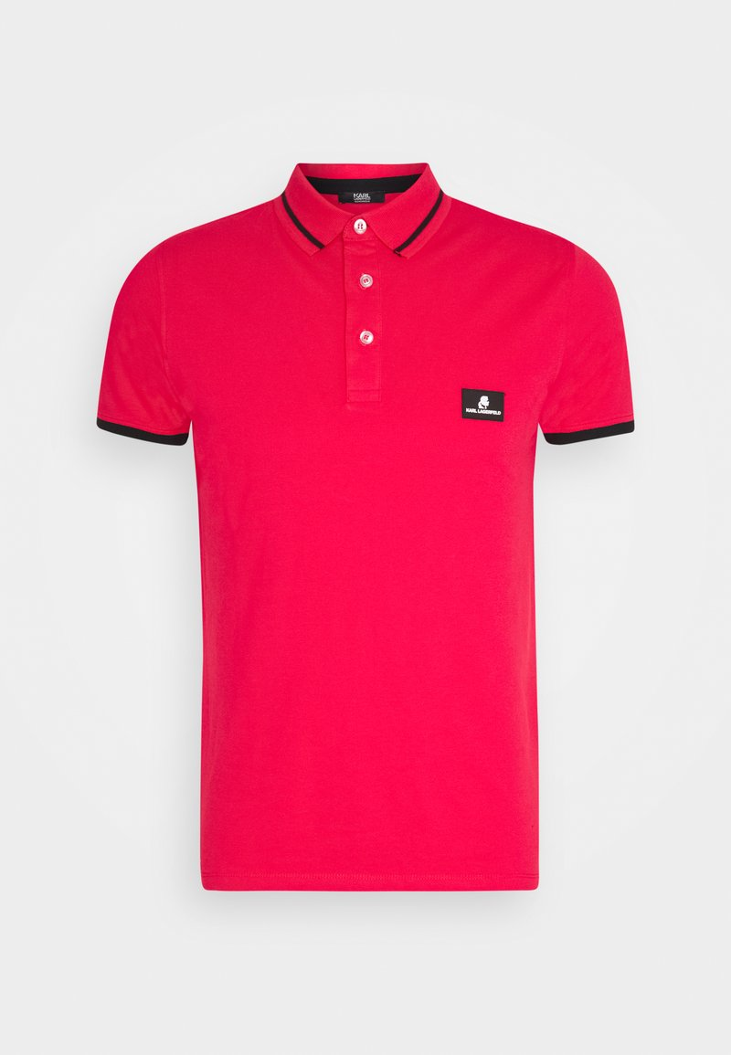 KARL LAGERFELD - CÔTE D'AZUR - Poloshirts - red