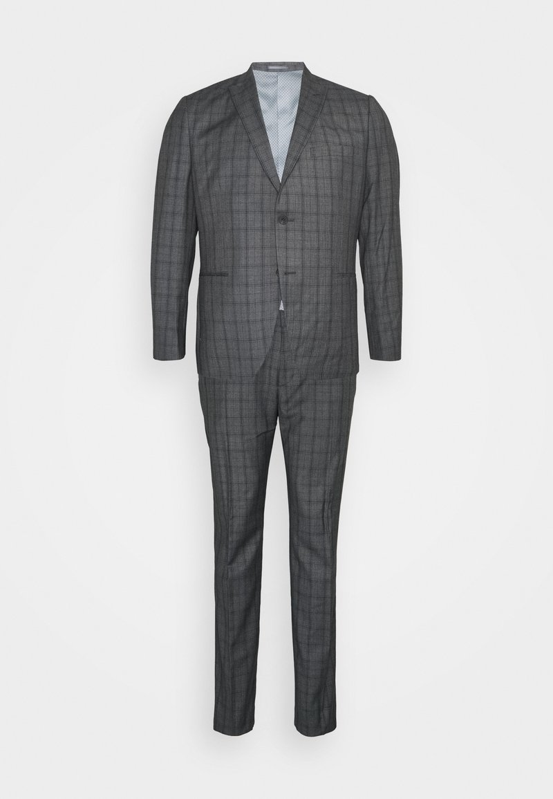 Isaac Dewhirst - CHECK SUIT - Oblek - grey