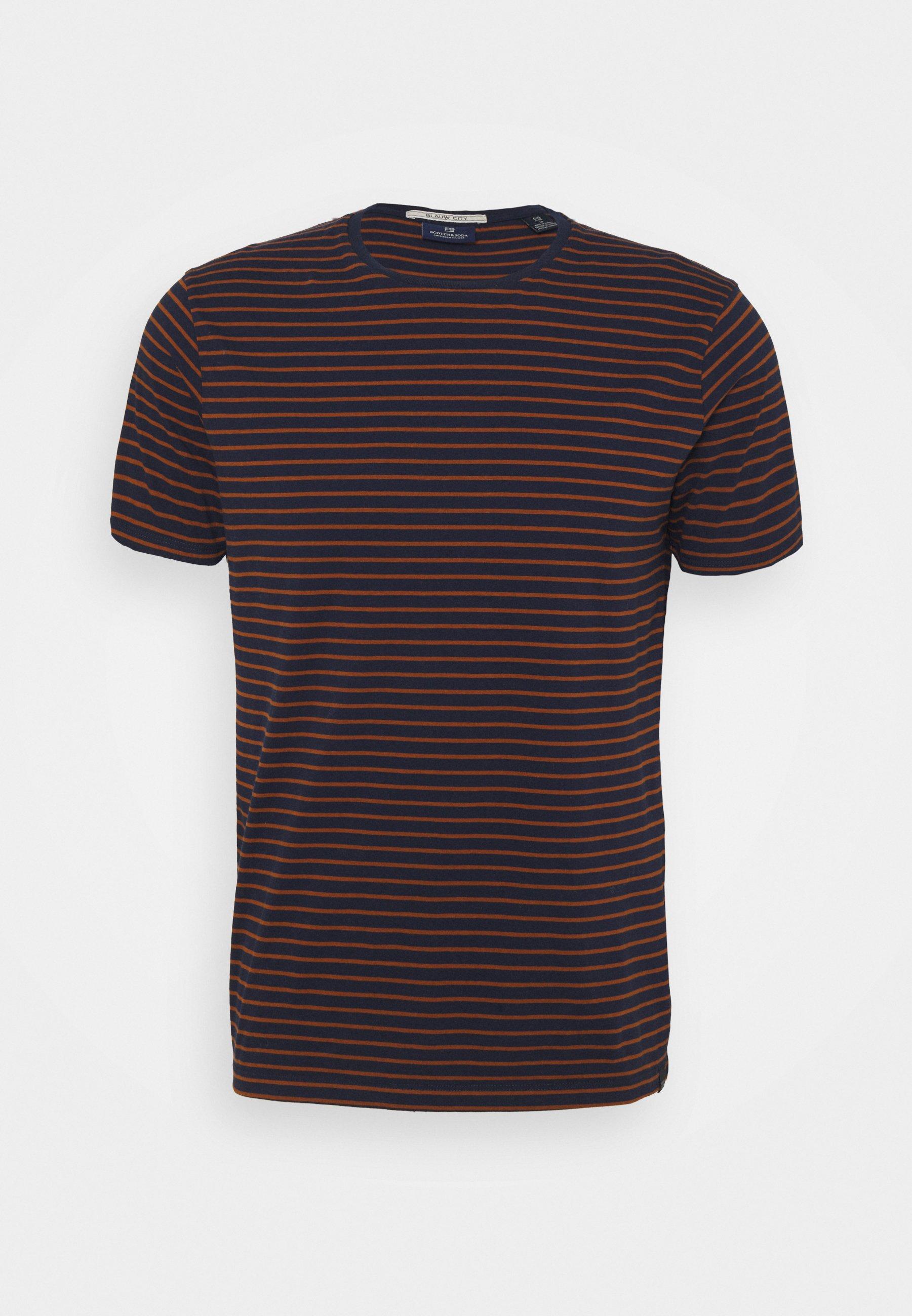 Men EASY CREWNECK TEE - Print T-shirt