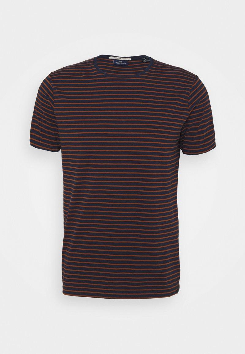 Scotch & Soda - EASY CREWNECK TEE - Print T-shirt - combo