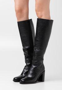 Minelli - High heeled boots - noir - 0
