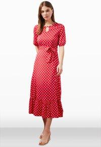 Trendyol - Day dress - red - 1