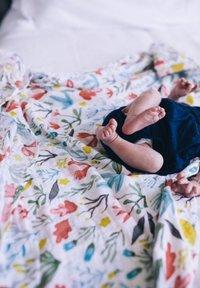 Little Unicorn - Muslin blanket - meadow - 2