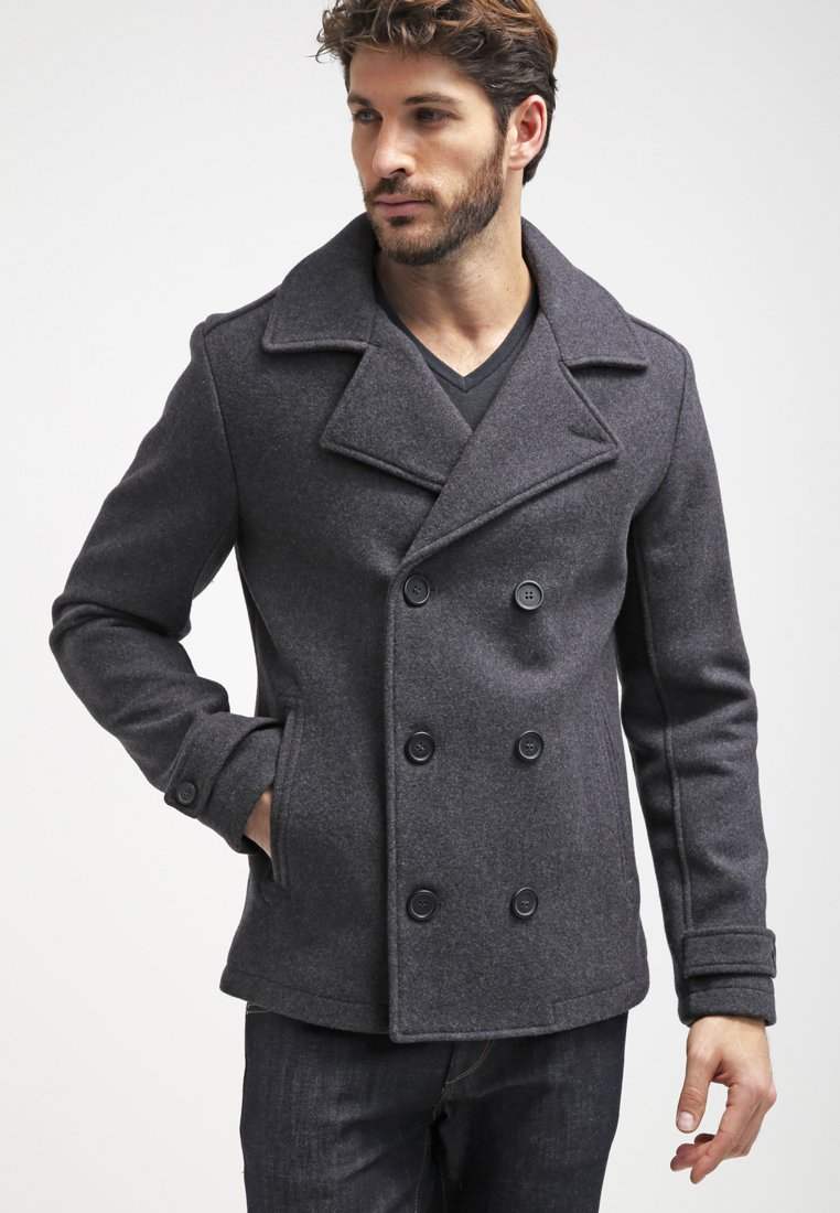 Pier One - Short coat - dark grey