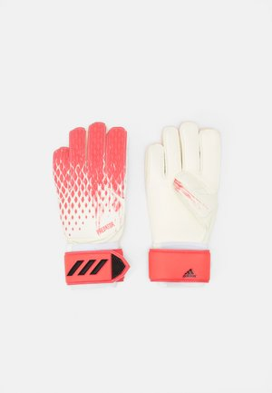 PREDATOR - Goalkeeping gloves - white/pop