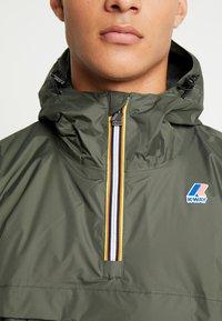 K-Way - LEON PADDED - Light jacket - black torba - 4