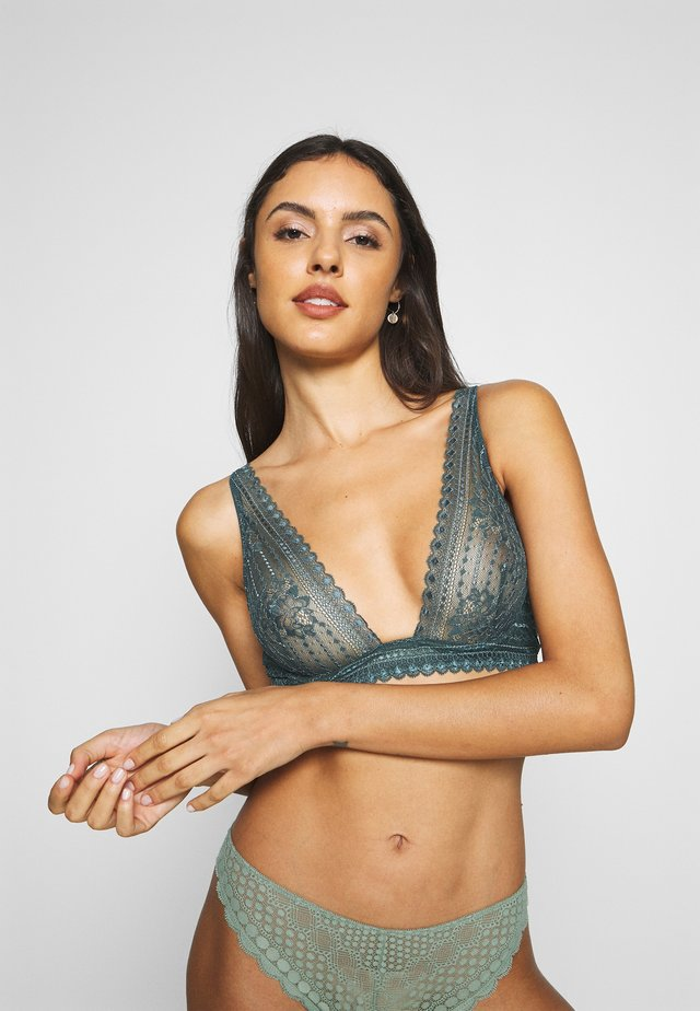 PANAMA - Triangle bra - pine green