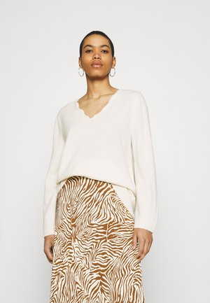 PULLOVER - Pullover - offwhite