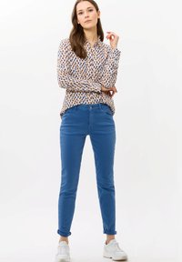 BRAX - VICTORIA - Button-down blouse - blue - 1