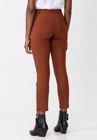 Indiska - AMARA - Trousers - brown - 1