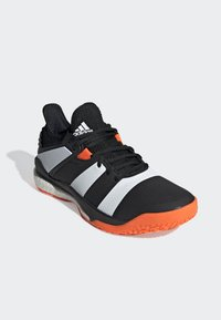 adidas Performance - STABIL X SHOES - Scarpe da pallamano - black - 3