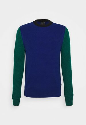 Jumper - blue/multi-coloured