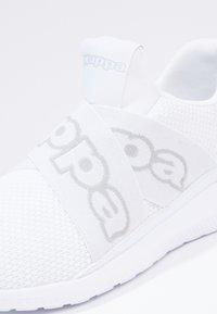 Kappa - FASTER II - Chaussures d'entraînement et de fitness - white/light grey - 3