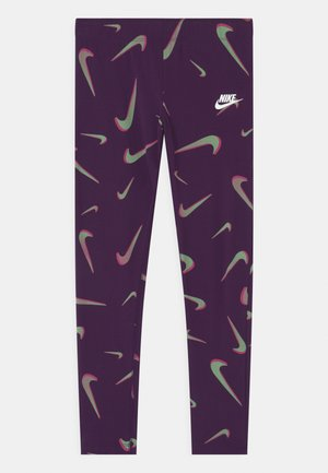 FAVORITES - Leggings - Trousers - grand purple/white