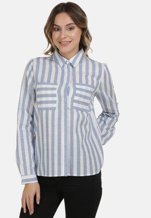 DREIMASTER BLUSE - Button-down blouse - blue