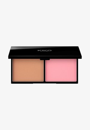 SMART BLUSH AND BRONZER PALETTE - Face palette - 01 cinnamon and tea rose