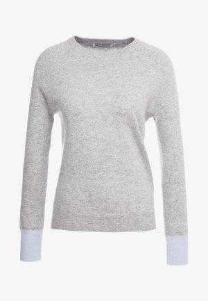 CLASSIC CREW NECK - Jumper - light grey/baby blue