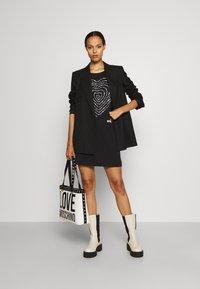 Love Moschino - Jersey dress - black - 1