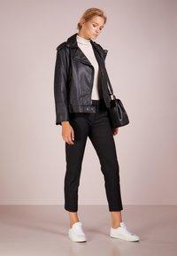 Lauren Ralph Lauren - SUITING  PANT - Trousers - black - 1