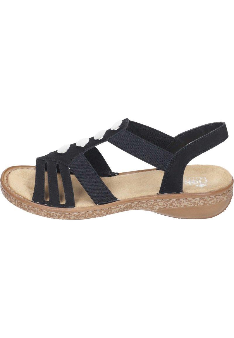 Rieker - Sandalen - schwarz