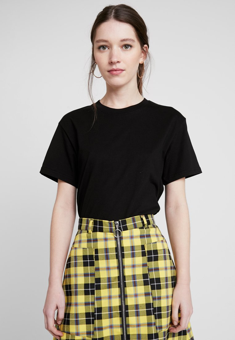 Weekday - ALANIS - Basic T-shirt - black