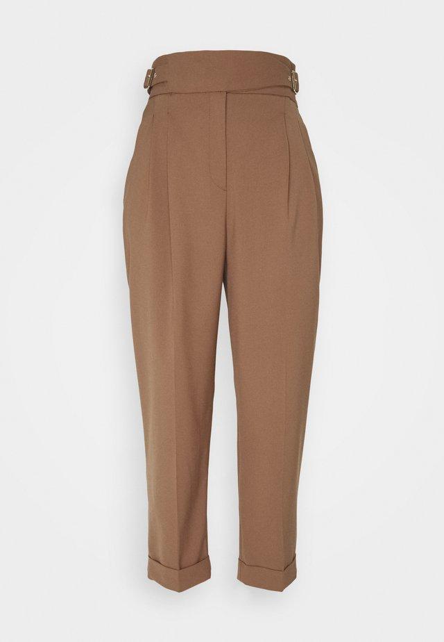 Spodnie materiałowe - mushroom