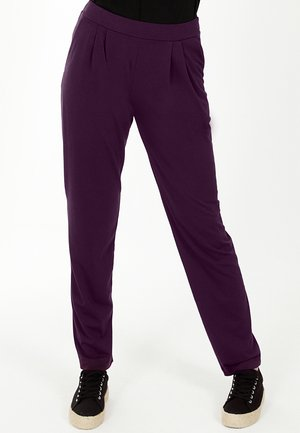 Trousers - damson