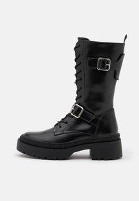 Even&Odd - Platform boots - black - 0