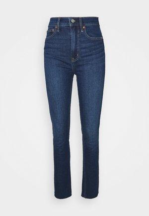 CIGARETTE GLYDE - Straight leg jeans - dark indigo