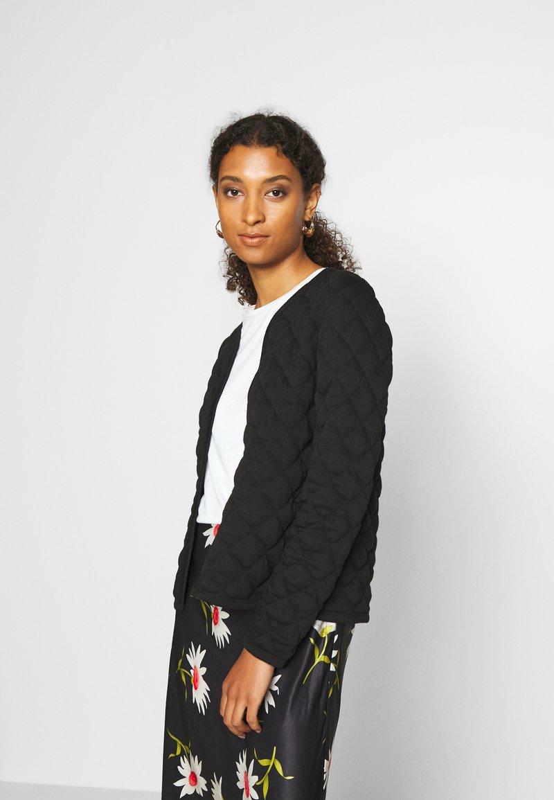 ONLY - ONLSPIRIT QUILTET SHORT JACKET  - Summer jacket - black